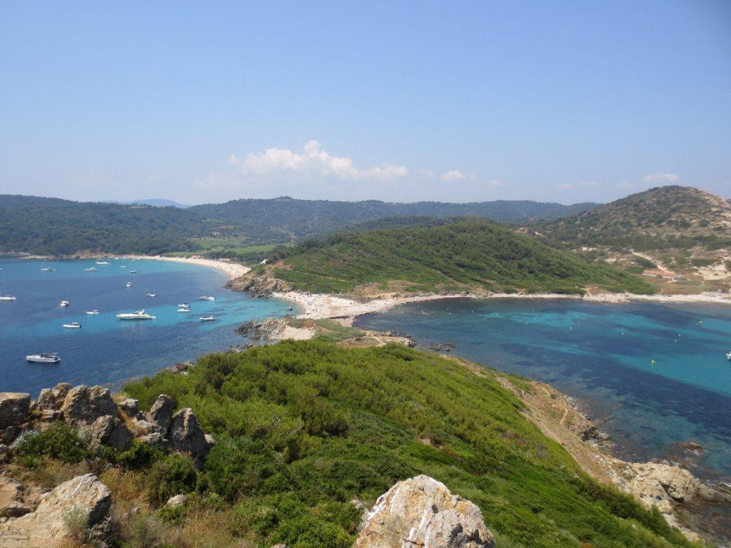 Uitzicht vanaf de Cap Taillat