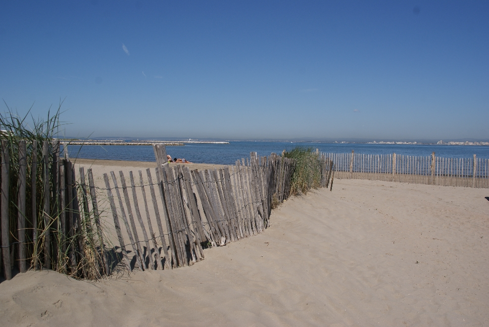 Het strand van le Grau du Roi