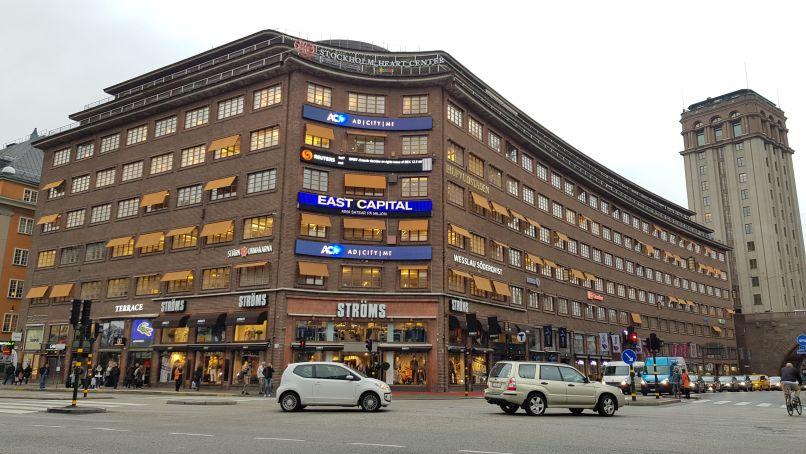 Kruispunt Kungsgatan - Sveavägen